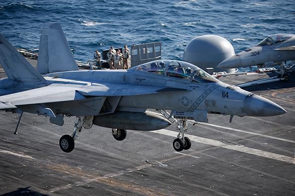США снова бомбят Сирию