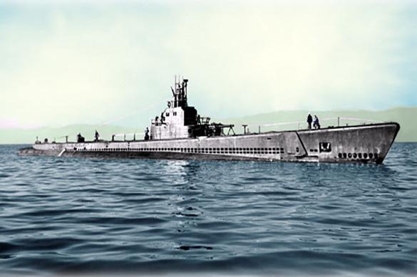 Подводная лодка ВМС США Херринг. Архивное фото.