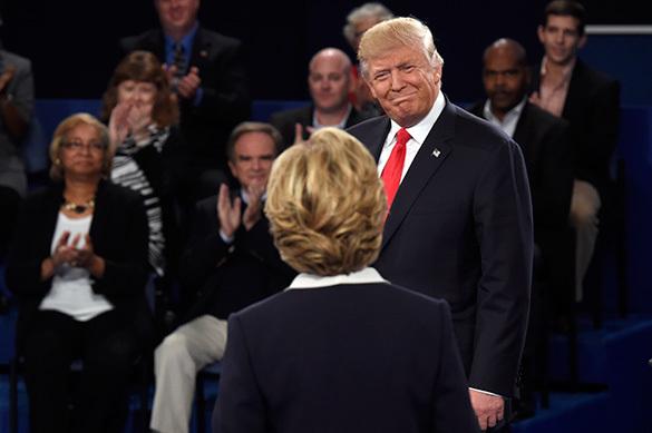 Дебаты Трампа и Клинтон