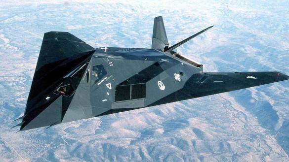 Перед российским воздушным хищником американец оказался олененком. Stealth F 117