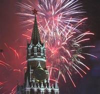 Москва отметит День России грандиозным шоу с фейерверком