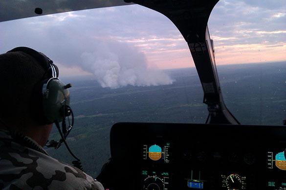 Чернобыль: пожар тушат круглосуточно. Чернобыль