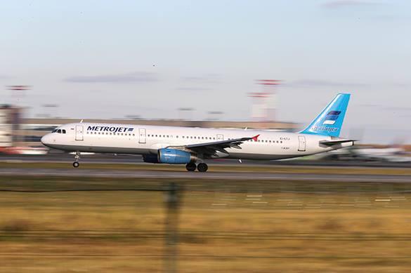 На борт Airbus A321 рейса 9268 было оказано внешнее воздействие