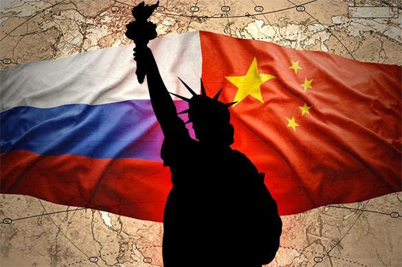 CNN: Трамп боится союза России и Китая. CNN: Трамп боится союза России и Китая
