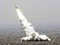 Успешные запуски межконтинентальных ракет прошли в Охотском море