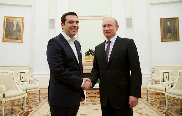 Путин и Ципрас нанесли