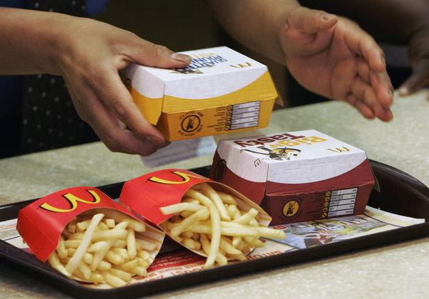 Макдональдс, ресторан