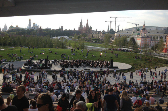 Как в Москве разбили парк. Зарядье