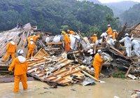 На Японию обрушился мощный тайфун. Есть жертвы. japan