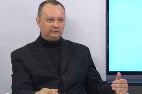 Борис Борисов: фашизм всегда приводит к войне. Замминистра иностранных дел Донецкой народной республики Борисов