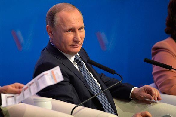 На «Прямую линию» с Путиным надеются 74проц. россиян