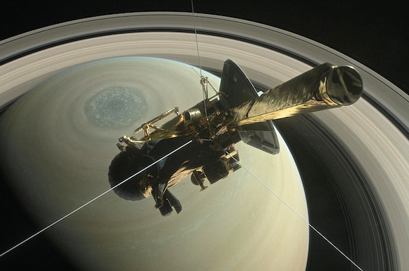 Cassini раскрыла  ученым секреты газовых колец Сатурна. 374926.jpeg