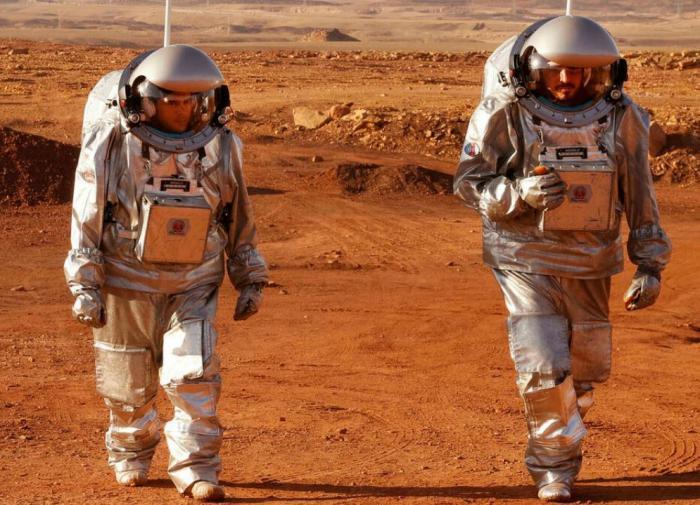 симуляция жизни на Марсе