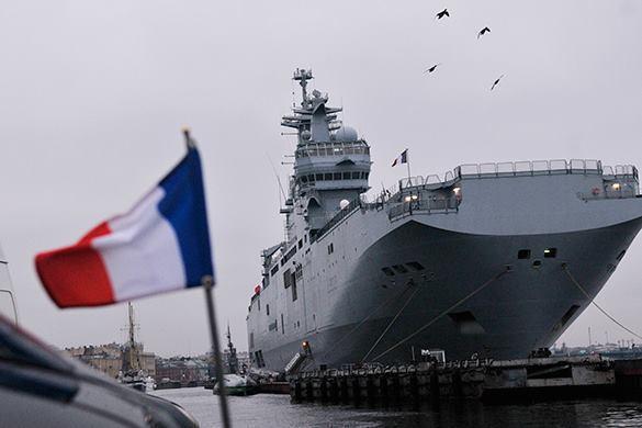 Депутат ГД: Пусть французы думают, как отдать нам деньги и куда деть вертолетоносцы.