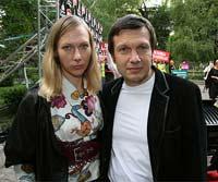 Владимир Соловьев с женой - почетные гости.