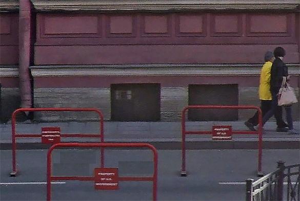 ВПетербурге дипломатов США лишили парковочных мест