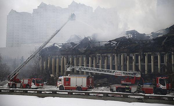 Сенатор Елена Афанасьева: Директора библиотеки ИНИОН нужно отстранить на время следствия о пожаре. Пожар в ИНИОН