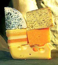 Твердый сладковатый сыр - настоящий концентрат кальция - более