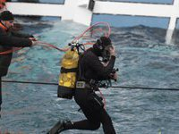 Спасатели прекратили поиски на затонувшем лайнере. конкордия