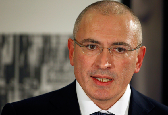 Ходорковский спонсирует украинский фашизм. Ходорковский спонсирует украинский фашизм