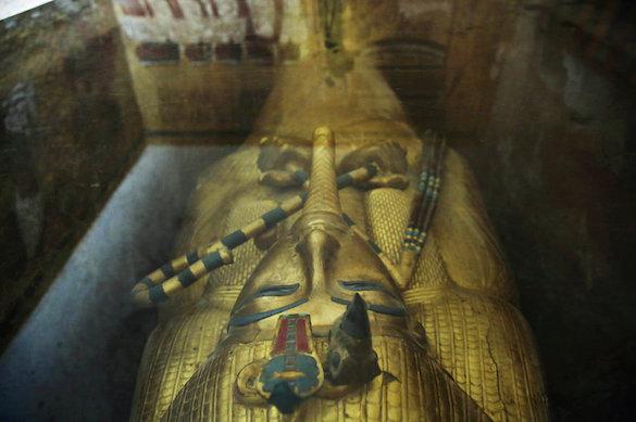 Ученые: ВДолине царей Египта найдена вероятная могила супруги Тутанхамона