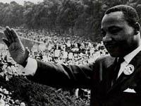 В США прошел парад в честь Мартина Лютера Кинга. king