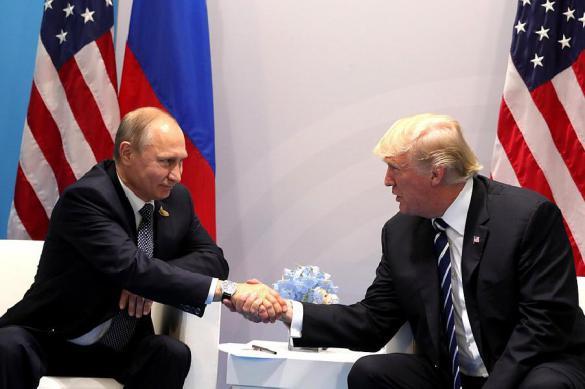 Белый дом: Отдельной встречи Трампа и Владимира Путина  небудет