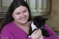 В Британии живет кот-вегетарианец
