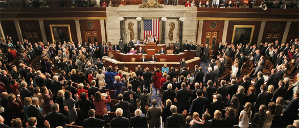 У Обамы наступают проблемы с конгрессом: его