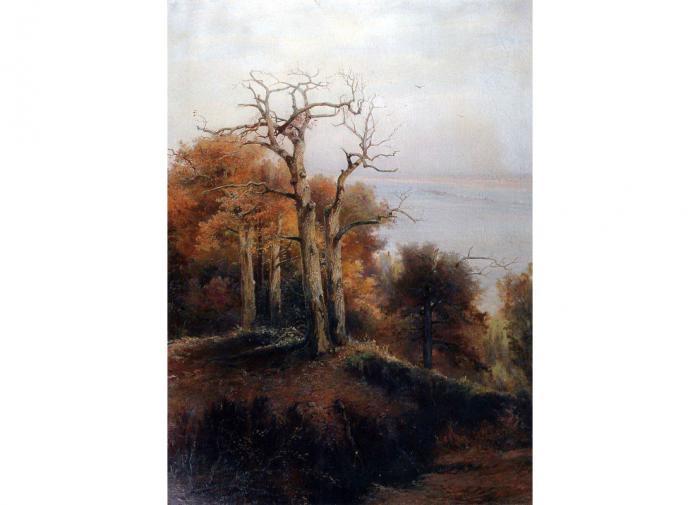 Осенний лес. Кунцево. Проклятое место, Алексей Саврасов