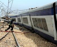 В Берлине произошло ЧП на железной дороге. Десятки пострадавших
