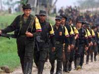Колумбийские военные нанесли авиаудар по лагерю боевиков