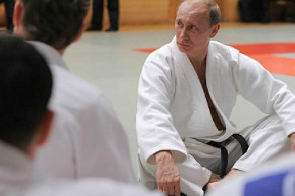 Путин покажет дзюдоистам силовой прием. 398943.jpeg