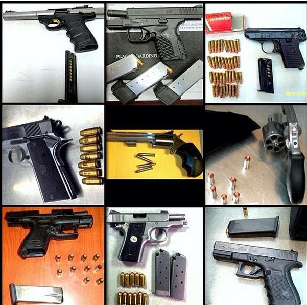 Создана коллекция опасных предметов из багажа американских пассажиров. 304944.jpeg