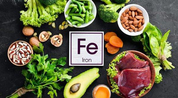 Железная диета, специально для женщин. железо в пище