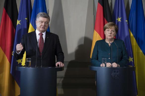 Меркель признала расхождения Берлина и Киева по