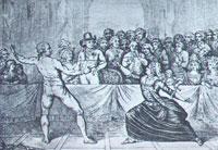Шевалье д'Эон в дамском наряде