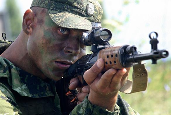 Новая военная Доктрина: вежливо, но непреклонно. российский солдат