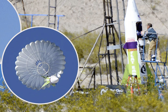 Полет на 500 метров: американец на самодельной ракете отправился в космос. Полет на 500 метров: американец на самодельной