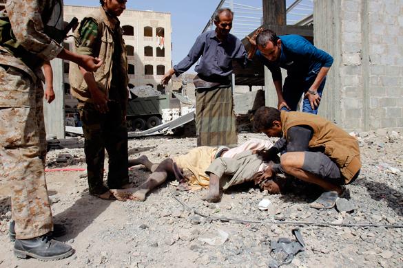 Коалиция снова начала бомбить Йемен. Коалиция снова начала бомбить Йемен