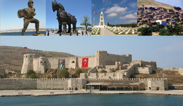 На какие курорты ездили древние римляне?. Чанаккале. Достопримечательности