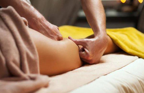 Наступление на лишние килограммы. массаж