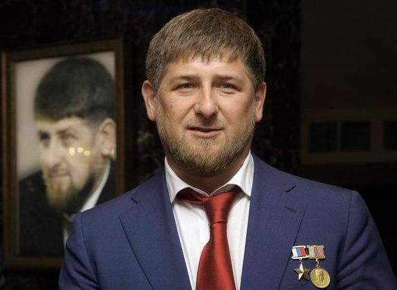 Владимир Путин наградил Рамзана Кадырова орденом Почета. Рамзан Кадыров