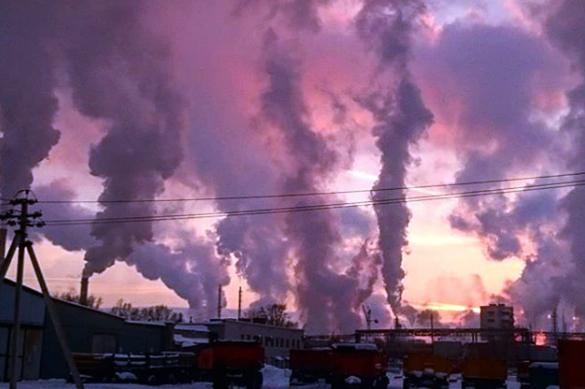 Апокалипсис в Кузбассе: небо затянуло черными тучами. Апокалипсис в Кузбассе: небо затянуло черными тучами