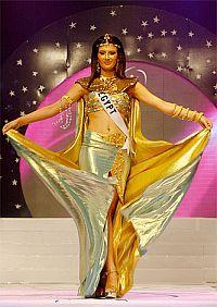 Мисс Египет на конкурсе красоты