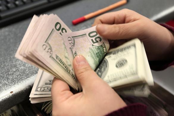 пересчет долларов