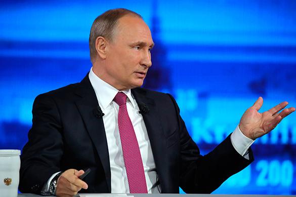 Владимир Путин открыл в Екатеринбурге восьмую выставку Иннопром