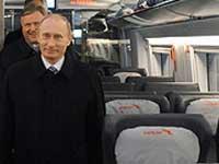 Путин предлагает подарить РЖД 100 млрд рублей