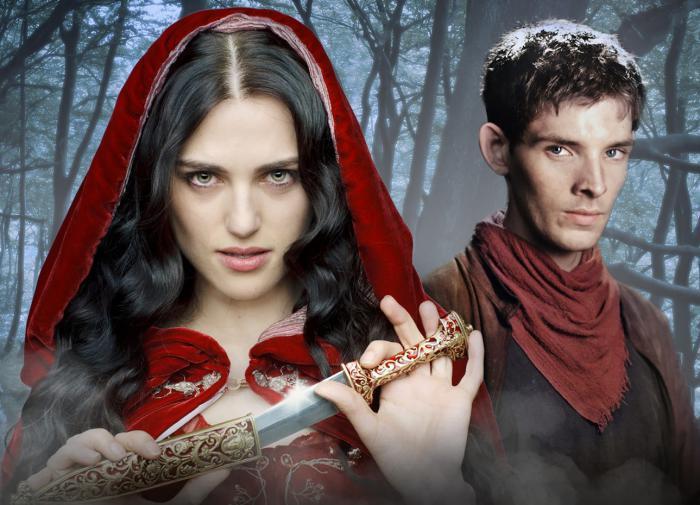 Моргана и Мерлин