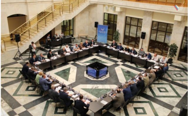Заседание штаба ОНФ